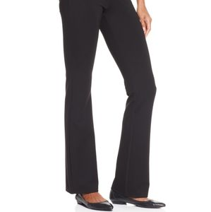 NWT Hue double knit bootcut leggings size Large